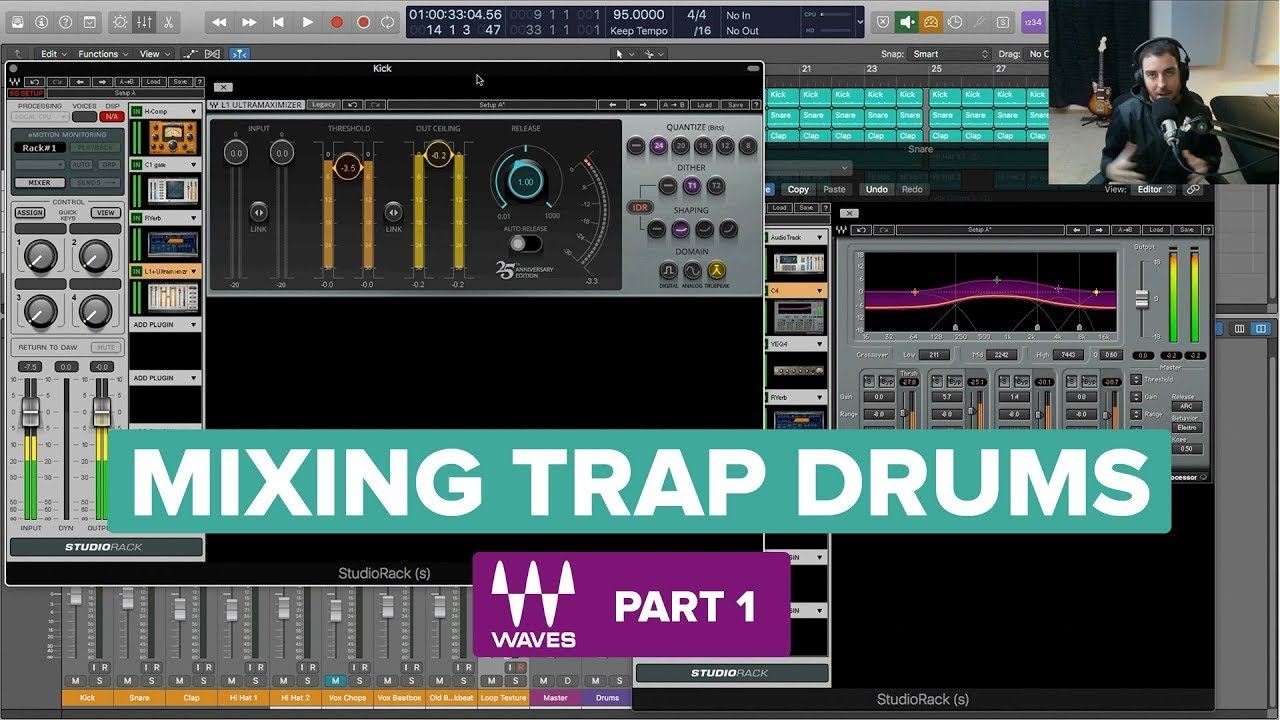 Mixing Trap Drums: Tips for Kicks, Snares and Claps