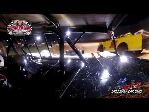 #28P Zane Powell - Crate Late Model - 8-6-21 Ponderosa Speedway - In-Car Camera - dirt track racing video image