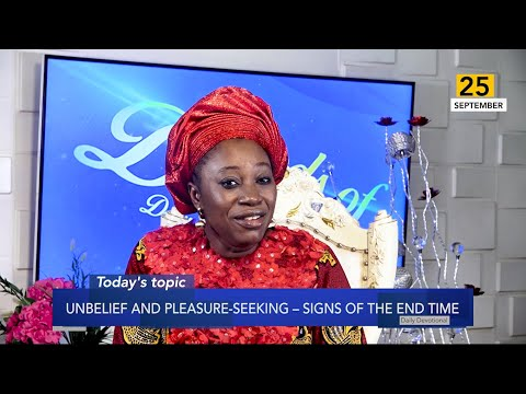 Dr Becky Paul-Enenche - SEEDS OF DESTINY  WEDNESDAY 25TH SEPTEMBER, 2019