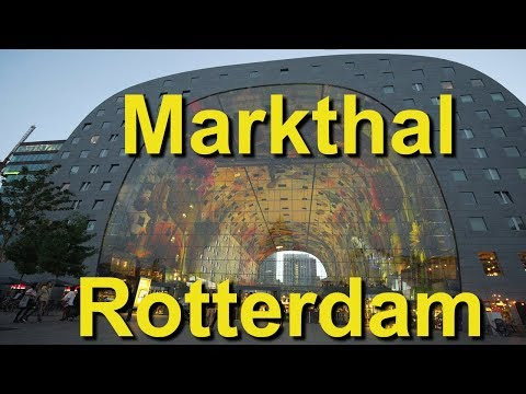 Markthal Rotterdam, Netherlands - UCvW8JzztV3k3W8tohjSNRlw