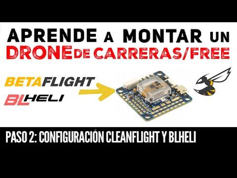 Cómo montar tu DRONE (2/3): configurar BETAFLIGHT y BLHELI - UCMf2ohoBrB1pgErsMa21SKg