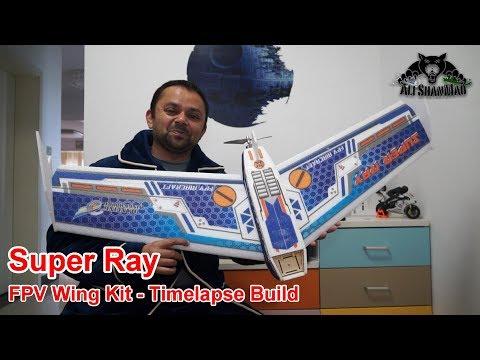 Timelapse Build DW hobby Super Ray 1100mm EPP FPV Flying Wing - UCsFctXdFnbeoKpLefdEloEQ