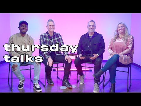 Thursday Talks  Pastors Michael and Charla Turner, Pastor Rob Jones, and Juwan Benjamin
