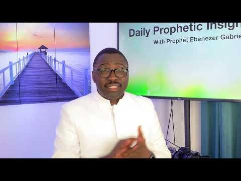 Prophetic insight Jul 6th, 2021