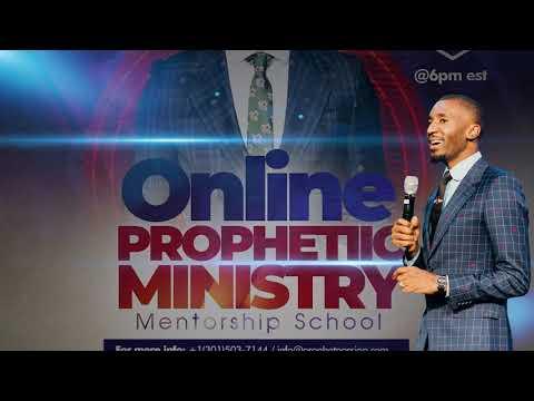 ONLINE PROPHETIC MINISTRY & MENTORSHIP SCHOOL WITH PROPHET PASSION JAVA!!