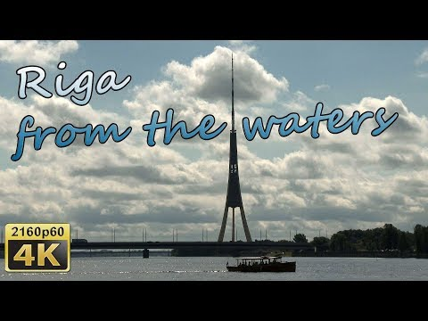 Riga from the waters - Latvia 4K Travel Channel - UCqv3b5EIRz-ZqBzUeEH7BKQ