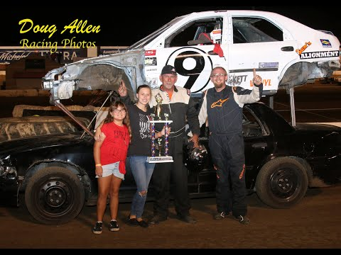 Perris Auto Speedway Double Decker Main Event  #9 in car   7-3-21 - dirt track racing video image