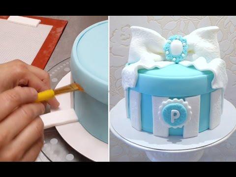 GIFT BOX CAKE - Birthday Cake Ideas by Cakes StepbyStep - UCjA7GKp_yxbtw896DCpLHmQ