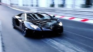 Lamborghini Aventador : INSANE Accelerations and Sounds