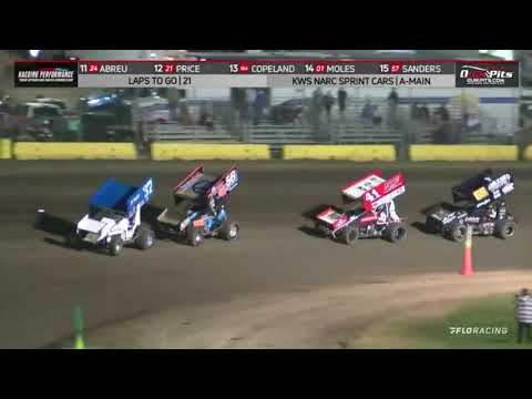 NARC KING OF THE WEST @ OCEAN SPEEDWAY - AUGUST 27, 2021 - dirt track racing video image
