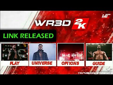 WR3D WWE MOD | WR3D 2K MOD V2 BY MT | BEST MOD EVER | LINK
