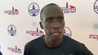 Leonard Korir becomes first American to win Falmouth Road Race since 1988