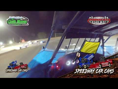 #15A Mike Anderson - Cash Money Late Model - 8-14-2021 Springfield Raceway - In Car Camera - dirt track racing video image