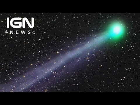 A Comet Spewing Booze and Sugar into Space Has Been Discovered - IGN News - UCKy1dAqELo0zrOtPkf0eTMw