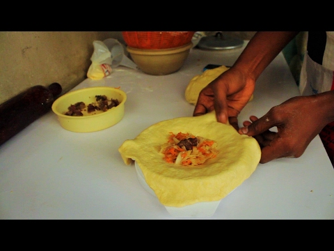 "How to Prepare Meat Pie With ""Carrot and Cabage"""