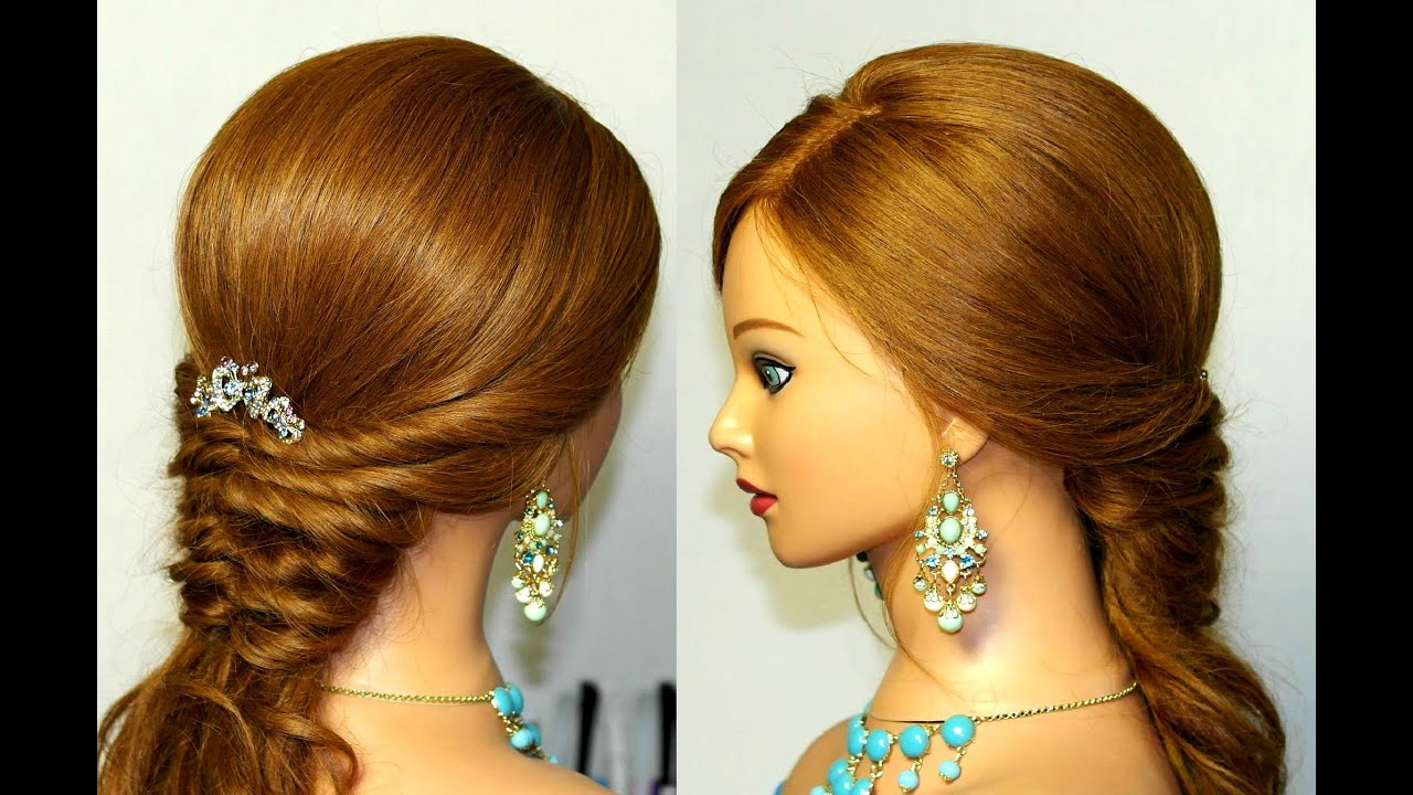 23 Romantic Wedding Hairstyles For Long Hair: Bridal Hairstyles For Long Hair. Romantic Prom Hairstyle