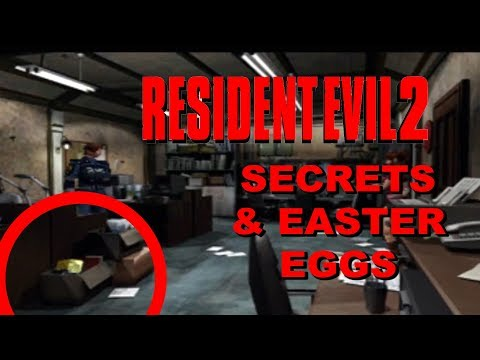 Top 10 Resident Evil 2 Secrets and Easter Eggs - UCuk-vTs6rUGCkSGK3cj1Q7Q