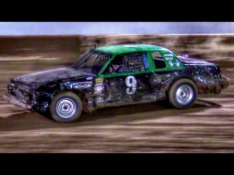 IMCA Hobby Stock Main At Canyon Speedway Park October 22nd 2016 - dirt track racing video image