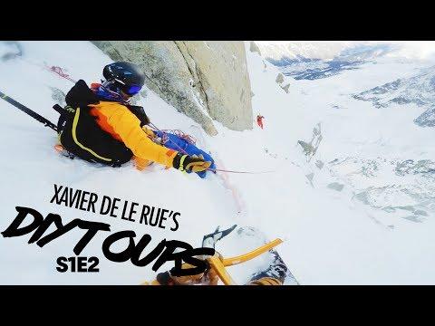 Xavier De Le Rue's DIY Tour: Insane Steep Line in Chamonix   Ep 2 - default