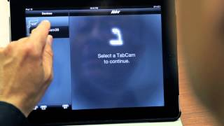 TabCam Tutorial Video - Pairing TabCam with a Tablet