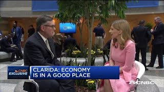 Watch CNBC's full interview with Fed vice chair Richard Clarida