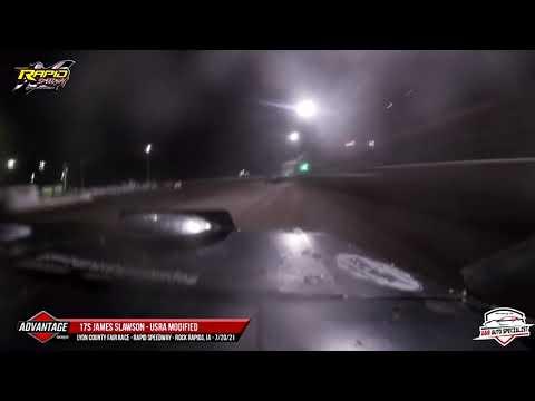 17s James Slawson | Rapid Speedway | 7-20-21 - dirt track racing video image