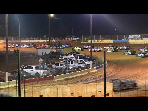 10/2/2021 A Main Thunder Bomber Cherokee Speedway - dirt track racing video image