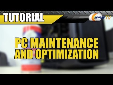 Newegg TV: How to Clean Your Computer - Maintenance and Optimization - UCJ1rSlahM7TYWGxEscL0g7Q