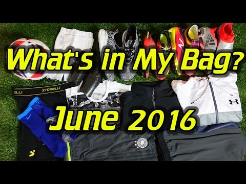 What's In My Soccer Bag - June 2016 - UCUU3lMXc6iDrQw4eZen8COQ