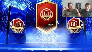 OUR FUTTIES TOTS FUT CHAMPIONS REWARDS!! - DIVISION 1 RIVALS REWARDS! FIFA 19 PACK OPENING