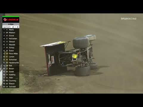 Highlights: 2020 ASCoC @ 'Governors Reign' Night #1 at Eldora - dirt track racing video image