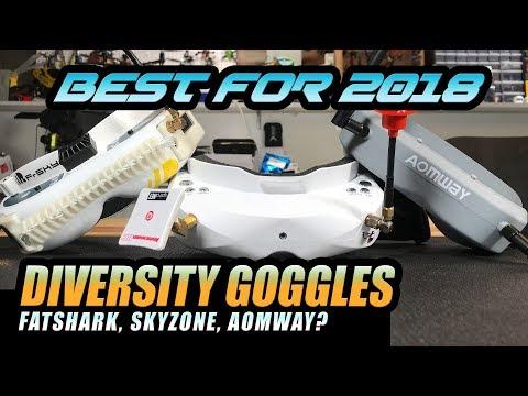 BEST FPV Goggles - Skyzone Sky02s VS Fatshark Fpv Goggle Review - UCwojJxGQ0SNeVV09mKlnonA