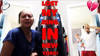 TELLING MY HUSBAND I LOST MY VERY EXPENSIVE RING IN NEW YORK!