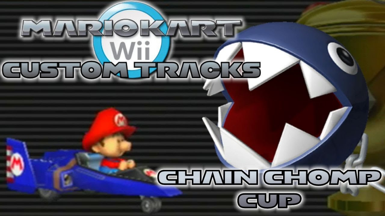 Mario Kart Wii Custom Tracks Chain Chomp Cup Fpvracer Lt