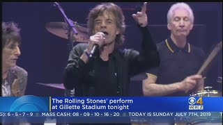 Rolling Stones Set To Play Gillette Stadium