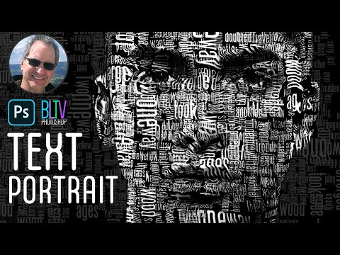 Photoshop Tutorial: How to Create a Powerful Text Portrait from a Photo - default