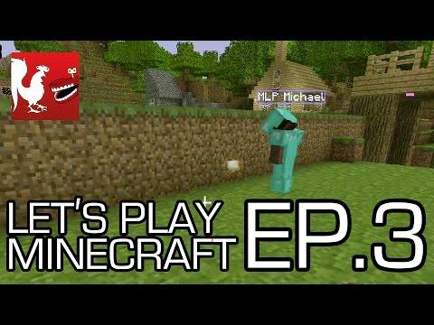 Let's Play Minecraft - Episode 3 - PLAN G | Rooster Teeth - UCzH3iADRIq1IJlIXjfNgTpA