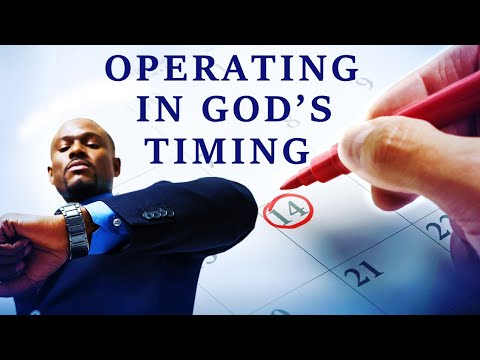 OPERATING IN GOD'S TIMING - BIBLE PREACHING  PASTOR SEAN PINDER