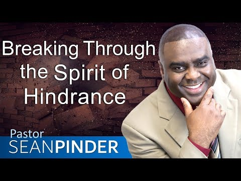 BREAKING THROUGH THE SPIRIT OF HINDRANCE - PARTNER PRAYER MEETING