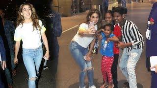 Sara Ali Khan Sweet Gesture Towards Her Little Fans Will Melt Your Heat
