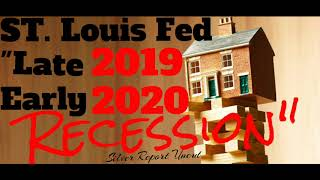 The St. Louis Fed Warns Home Sales Point To A Late 2019 / Early 2020 Recession
