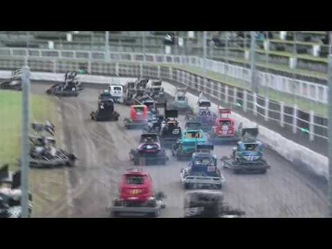 Like the Superstocks the Stockcars also have the Annaul House of Travel Series - dirt track racing video image