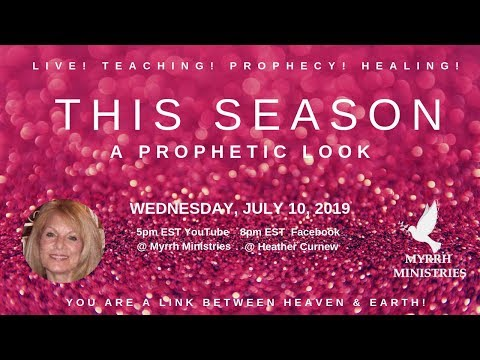 This Season - A Prophetic Look At Your Destiny -What Does The Lord Have In Mind