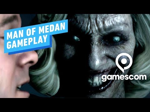 5 Minutes of The Dark Pictures: Man of Medan Gameplay - Gamescom 2019 - UCKy1dAqELo0zrOtPkf0eTMw