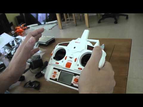 MJX X600 Unboxing and quick testing (Courtesy Lightake) - UC_aqLQ_BufNm_0cAIU8hzVg