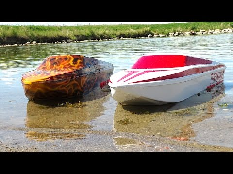 RC ADVENTURES - UNBOXiNG THRASHER JET BOATS! 5s LiPO - Streamline RC - Maiden Run - UCxcjVHL-2o3D6Q9esu05a1Q