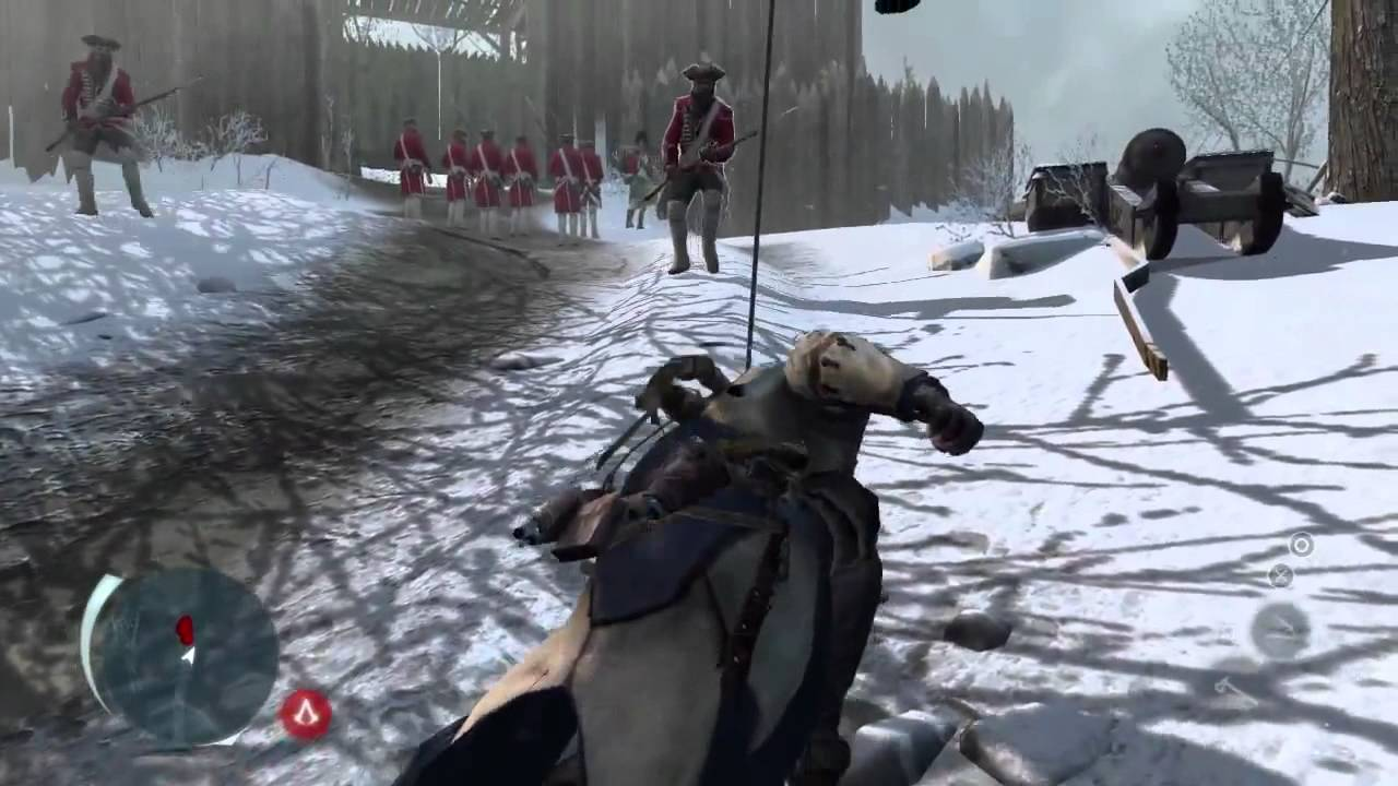 Assassin S Creed Iii Gameplay Walkthrough E3 2012 Demo Hd