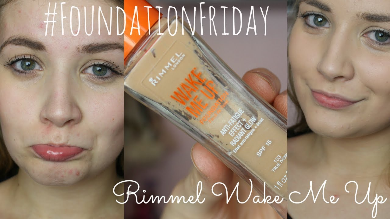 #FoundationFriday - Rimmel Wake Me Up - Demo + Review