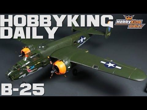 HobbyKing Daily - B-25 Mitchell Bomber EPO 1250mm (PNF) - UCkNMDHVq-_6aJEh2uRBbRmw