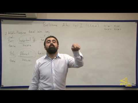 """تعلم اللغة التركية مع الأستاذ ابراهيم اسكي اوجاك الحلقة """"13"""""""